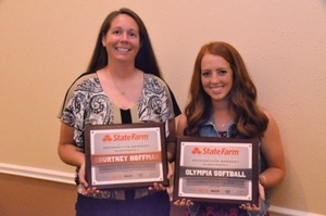 Olympia Honored at State Farm Student Athlete Recongnition Banquet