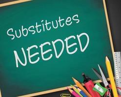 What does it take to be a substitute teacher or substitute paraprofessional (aide)?