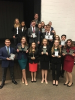 Olympia Speech Takes 3rd