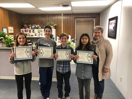 OMS Speech Team Recognized