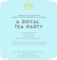 NHS | A Royal Tea Party