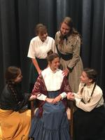 OHS Fall Play:  Little Women:  Meg, Jo, Beth, & Amy