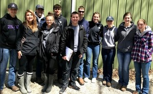 Olympia FFA Competes at Section 9 and State Livestock Judging