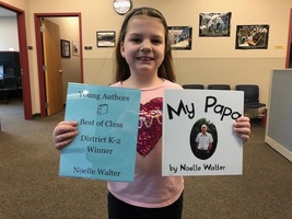 Young Author District K-2 Winner