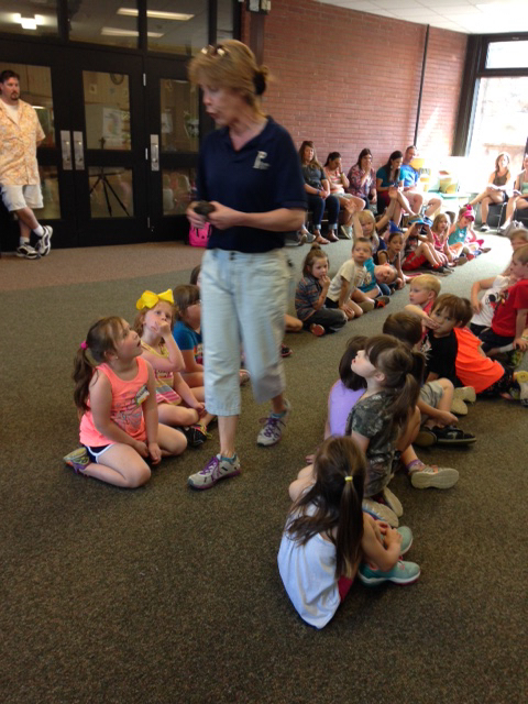 Kindergarten at Peoria Zoo