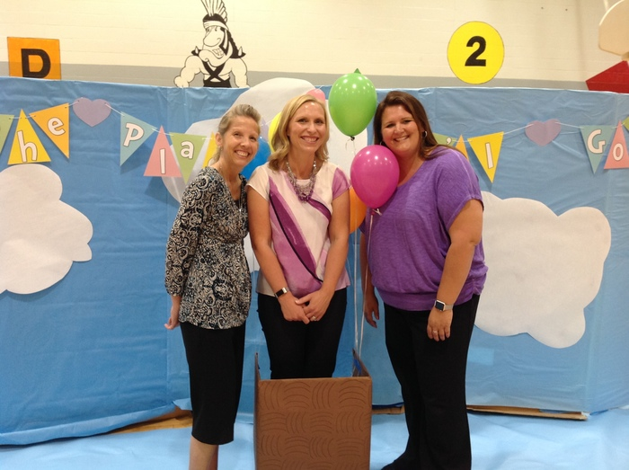 Ms. Lisa, Mrs. Richards and Ms. Emily