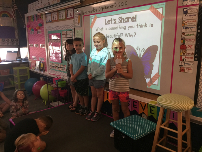Sharing the mic and the stage for share time!