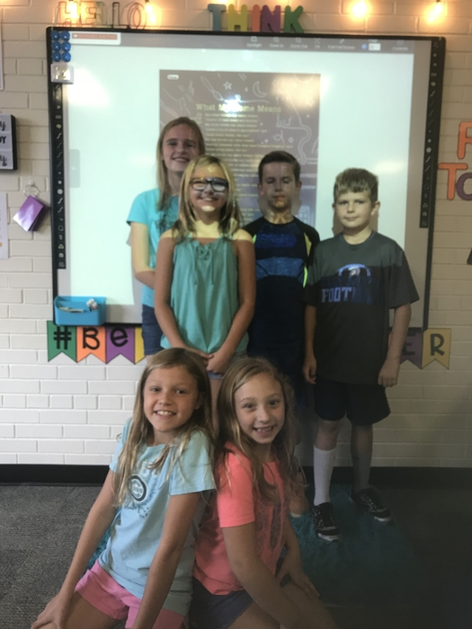 Fourth grade Enrichment Group