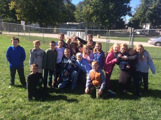 Ms. Gillis's 4th graders were the winning class!