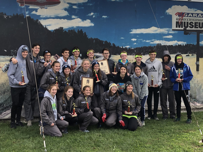 Olympia High School gals and guys are team champs at Effingham Invitational