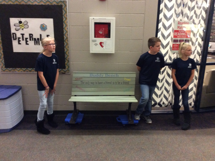 Buddy Bench and Student Council legacy projects