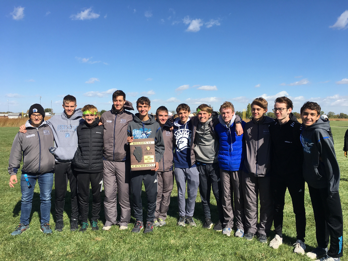 XC guys were Regional Champs at Farmington