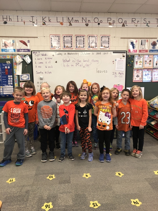 Mrs. Bohne's class celebrates Red Ribbon Week!