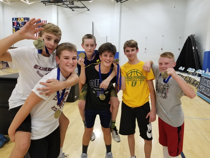 OMS Dodgeball Champions - Spartans
