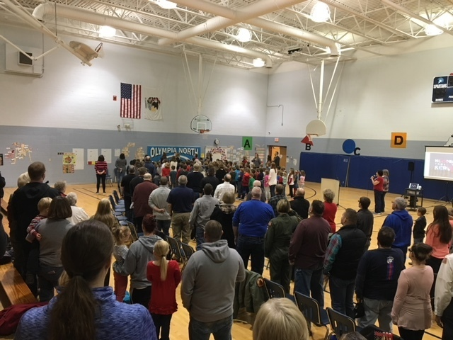 Veterans Day Assembly 2018