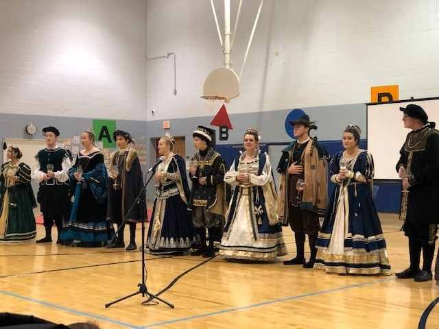 Madrigal Singers performing at ONE