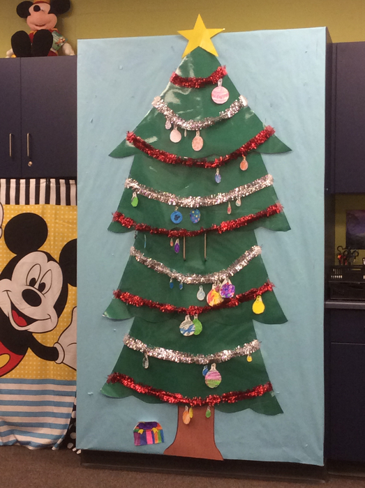 It's beginning to look a lot like Christmas at school.
