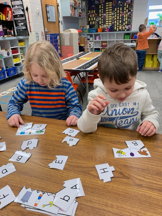 letter sounds and letters