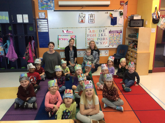 AfternoonPre-K Celebrates 100th Day of school