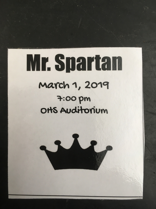 Mr. Spartan ticket