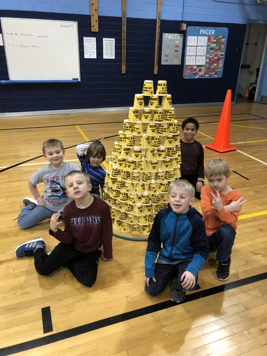Cup Tower.