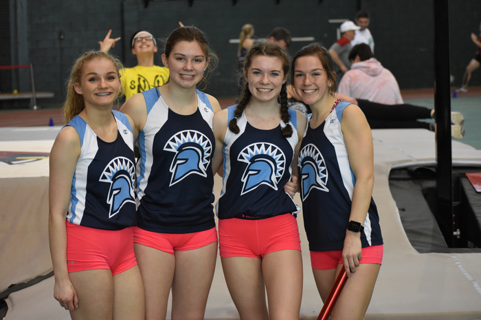1600 M relay at Cogdal Relays 2019