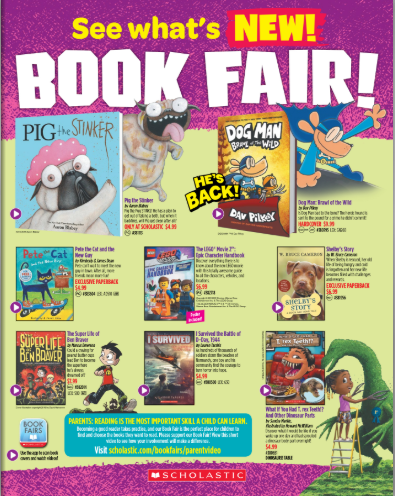 Interactive Book Flyer