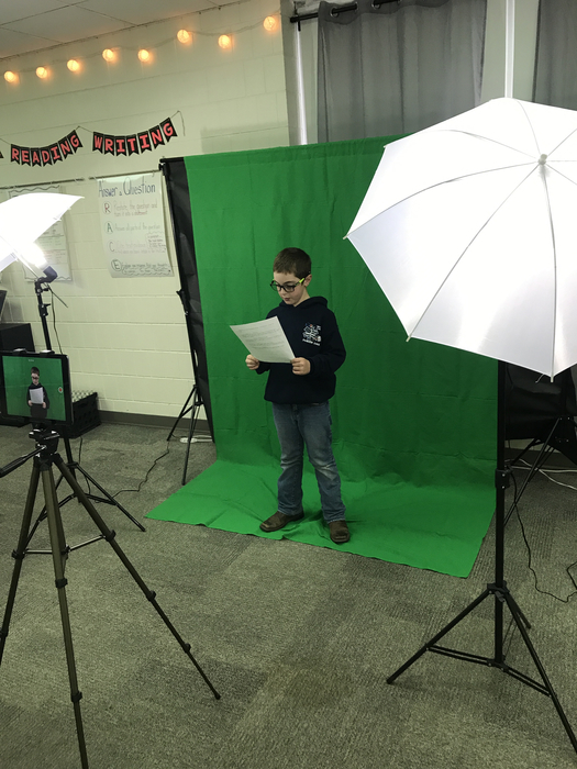 Using a green screen