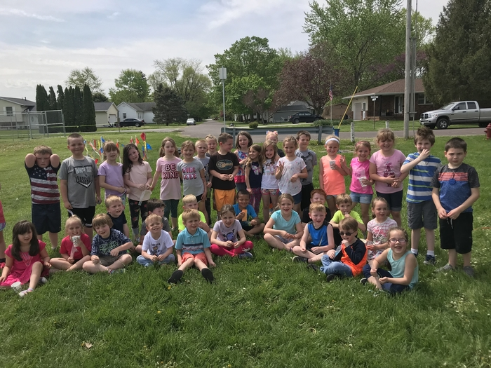 Kindergarten mile run