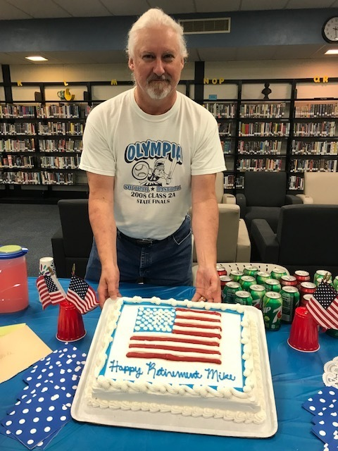 OHS Celebrates Mr. Haak!