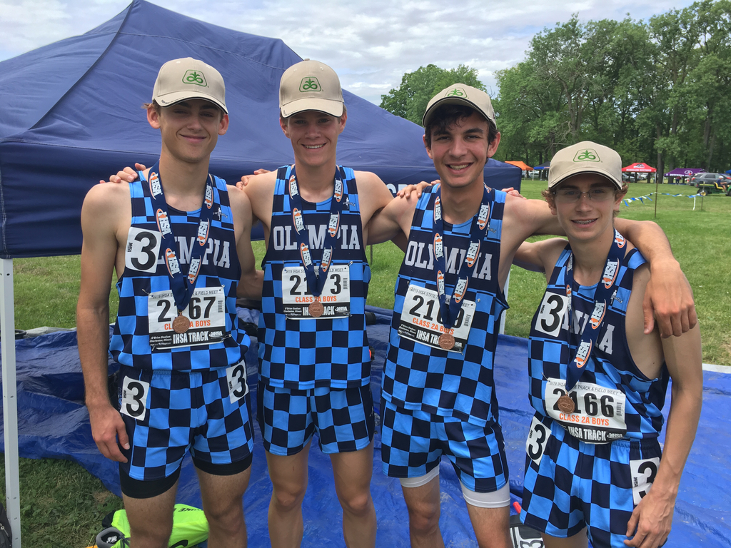 2019 4x8 4th place in state finals