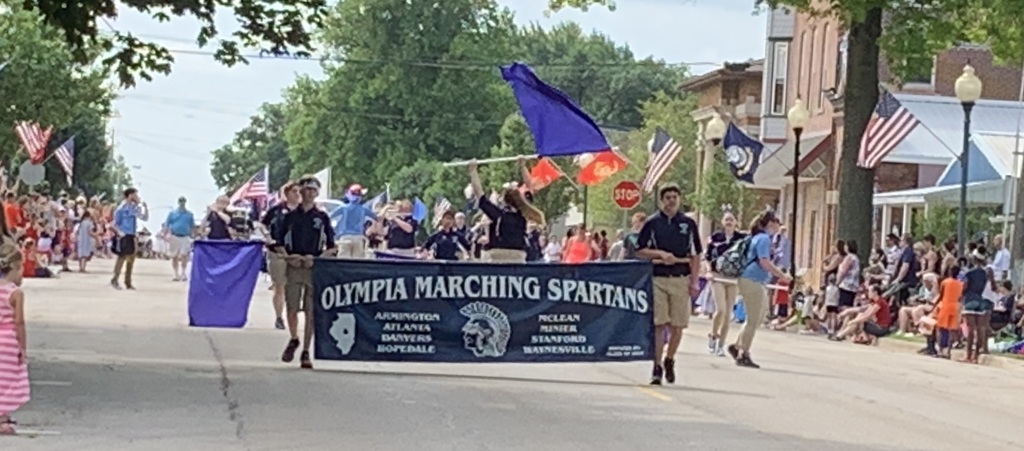 Marching Spartans!