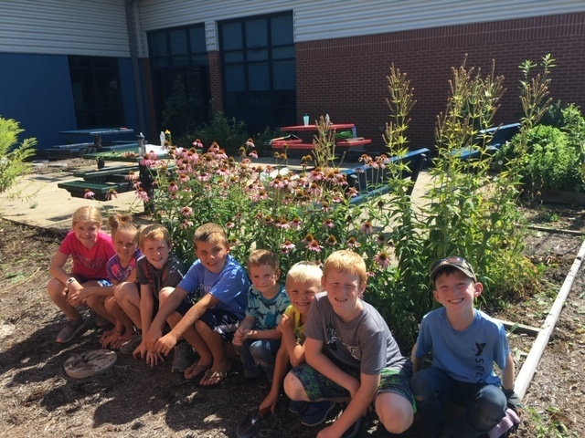 Garden Club Students