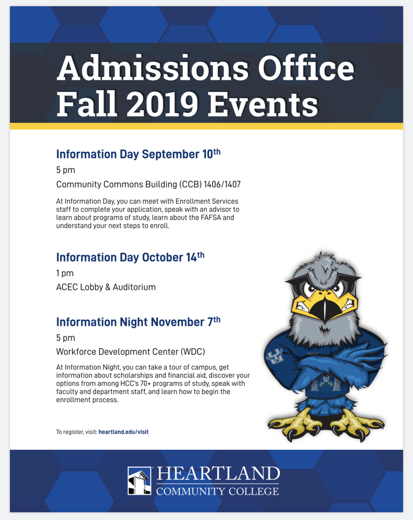 Fall 2019 HCC Events