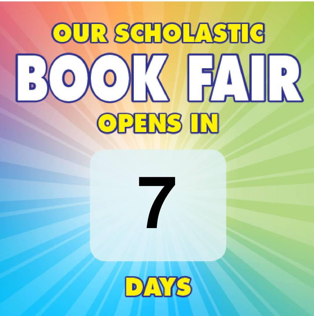 Book Fair Count Down