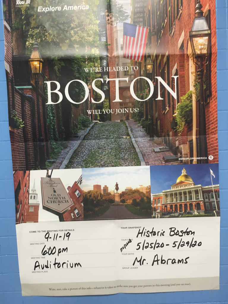 Poster for Boston