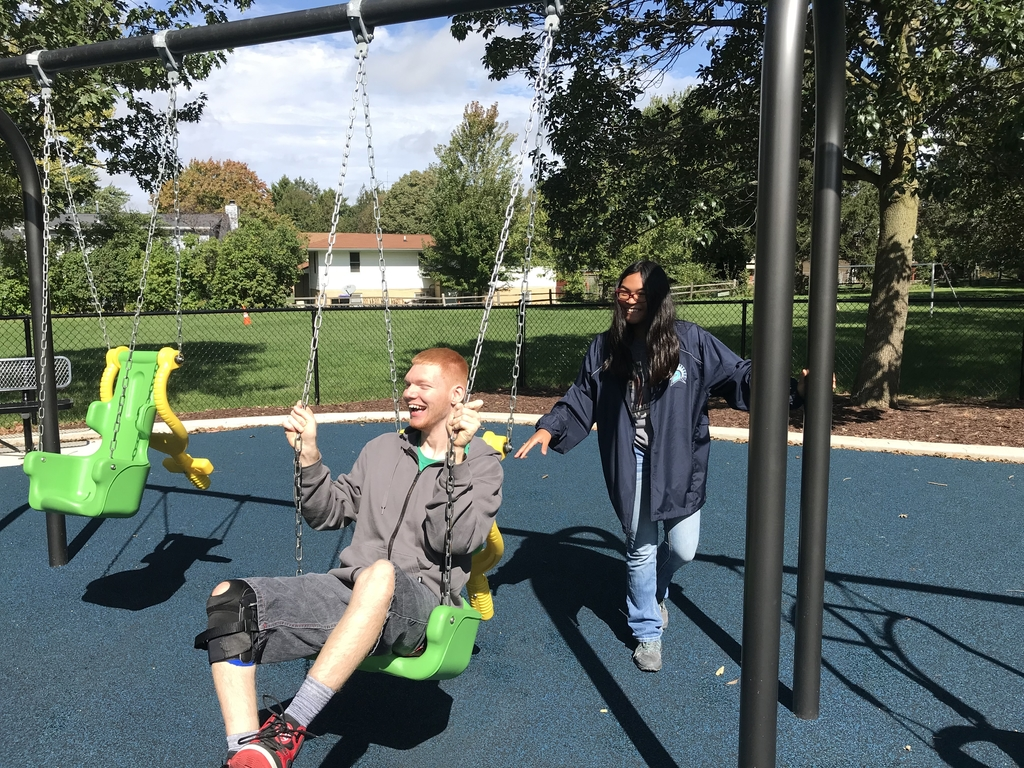 Harmony Park in Bloomington is an inclusive park for individuals with and without disabilities.