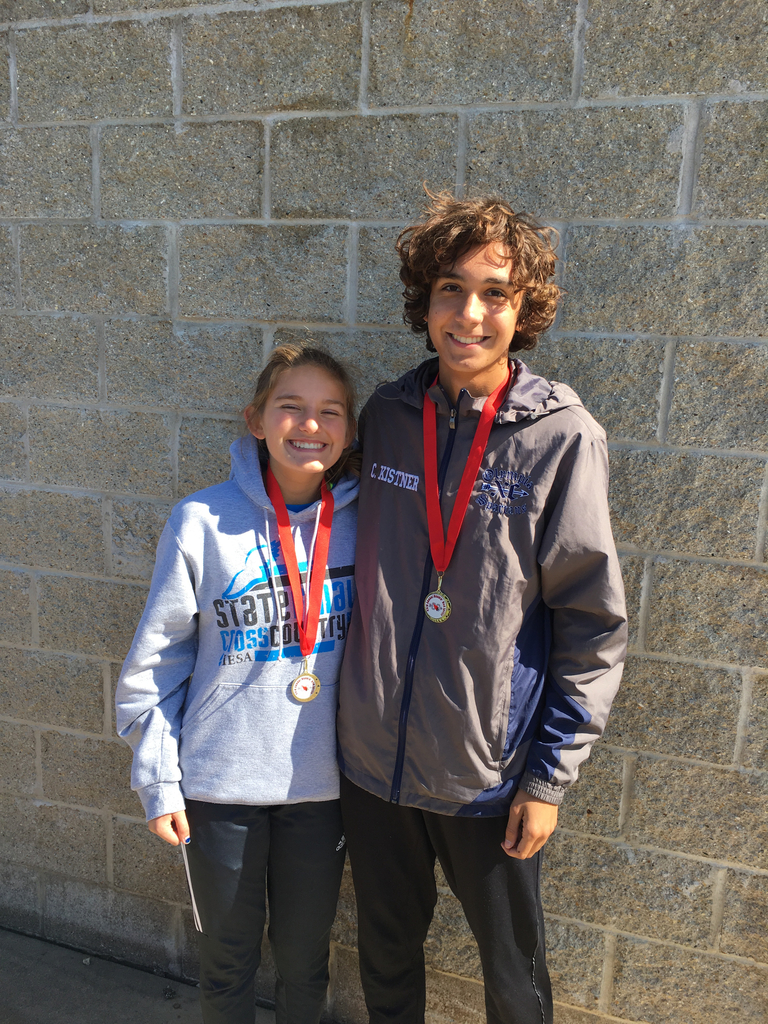 Savanah and Charlie Metamora Invite 2019