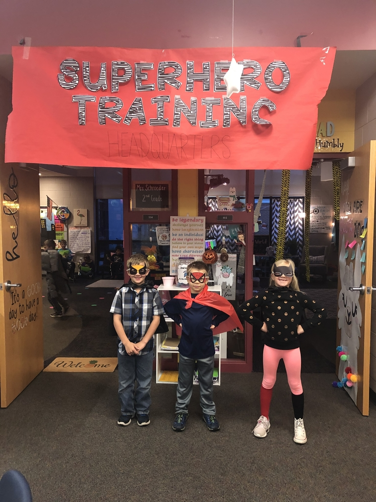 Heroes in training!