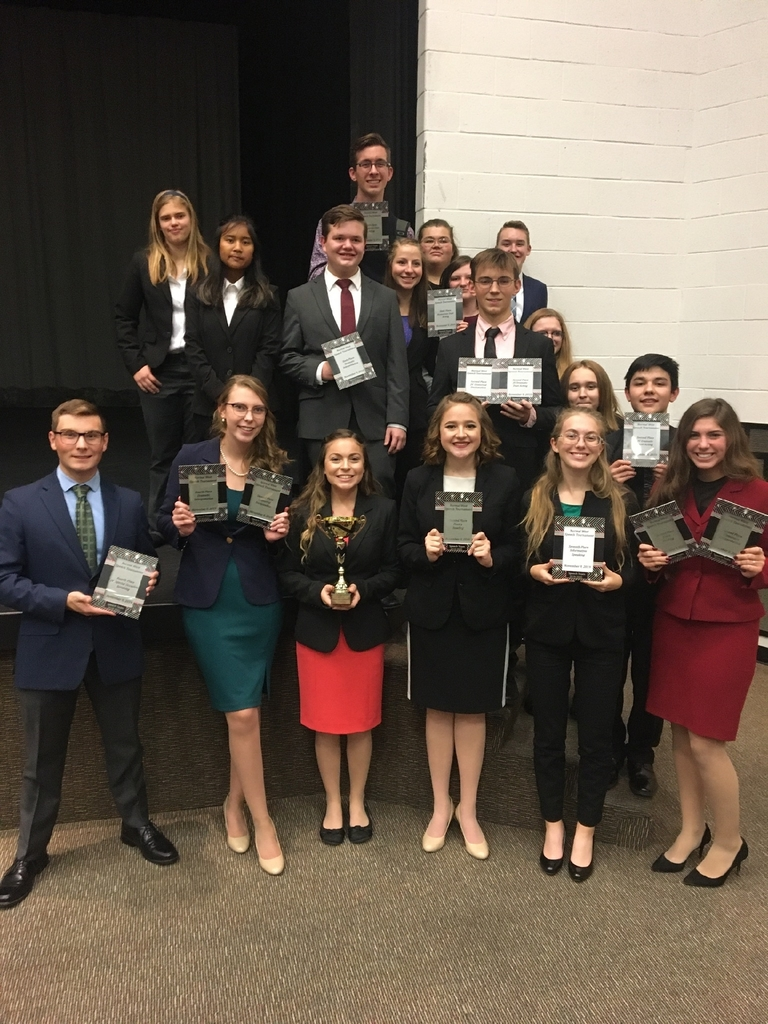 Congratulations to the Olympia Speech Team!
