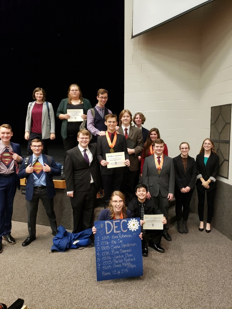 OHS SPEECH TEAM after awards!