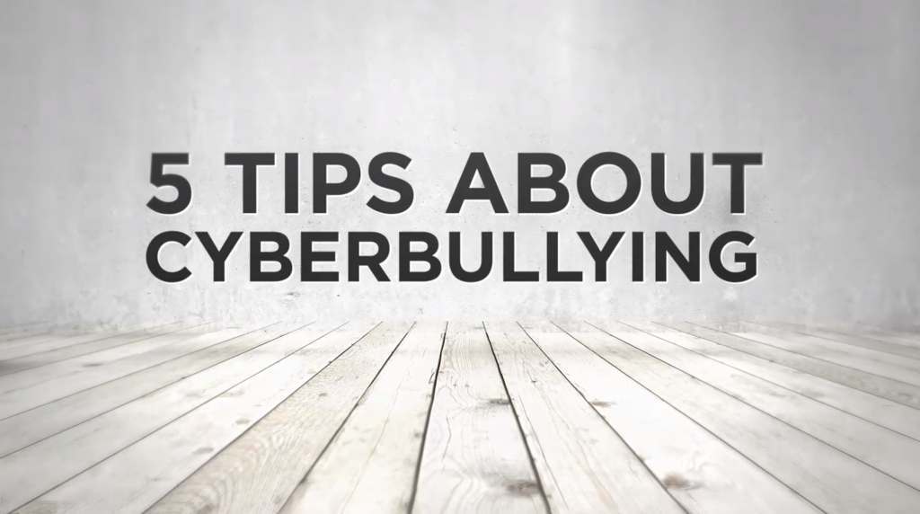 5 Tips on Cyberbullying