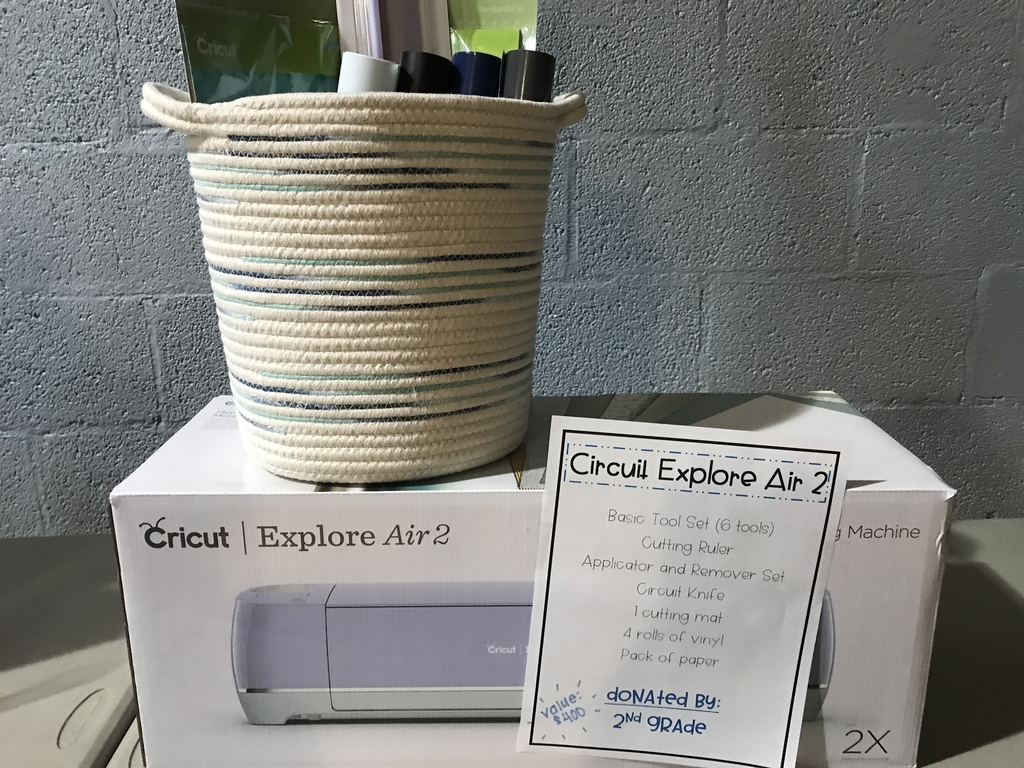Cricut Explore Air 2 basket