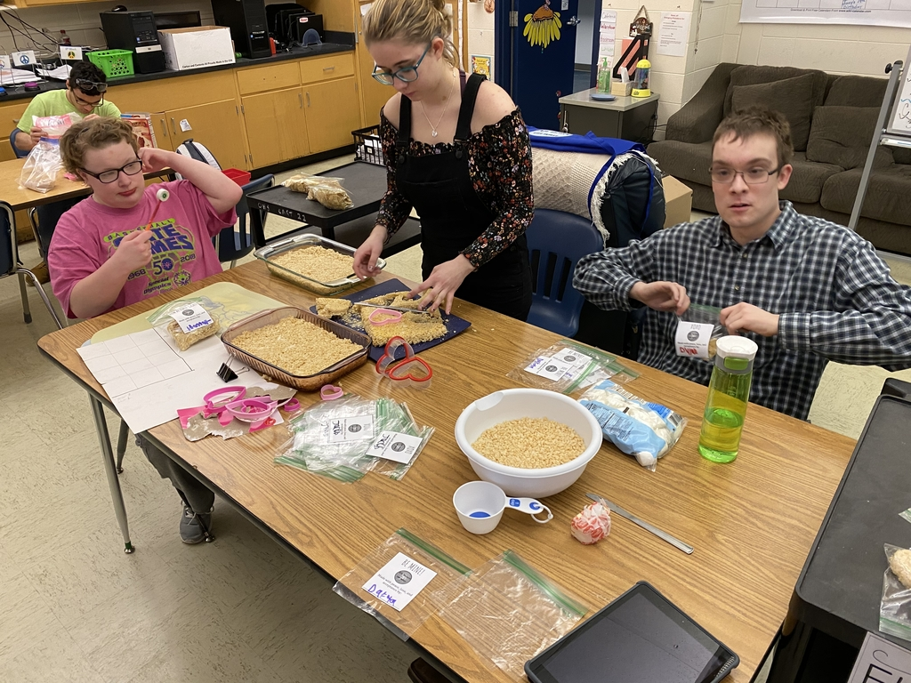 Packaging our treats!