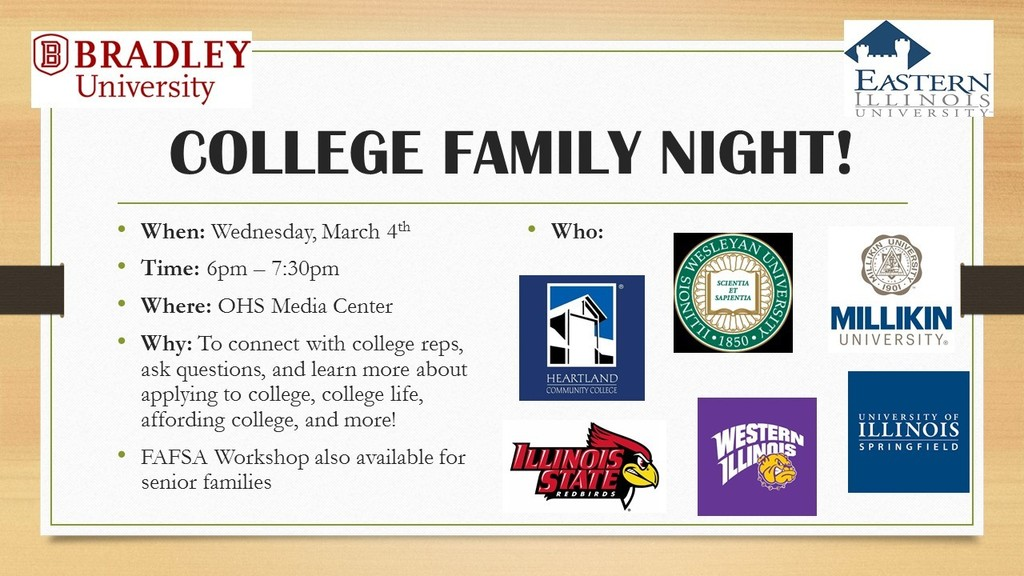College Family Night