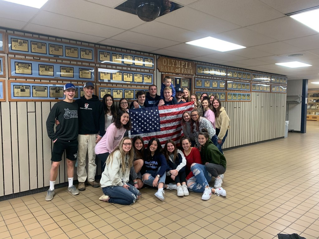 Sendoff for our foreign exchange students