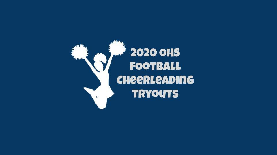 Football Cheerleading Tryouts