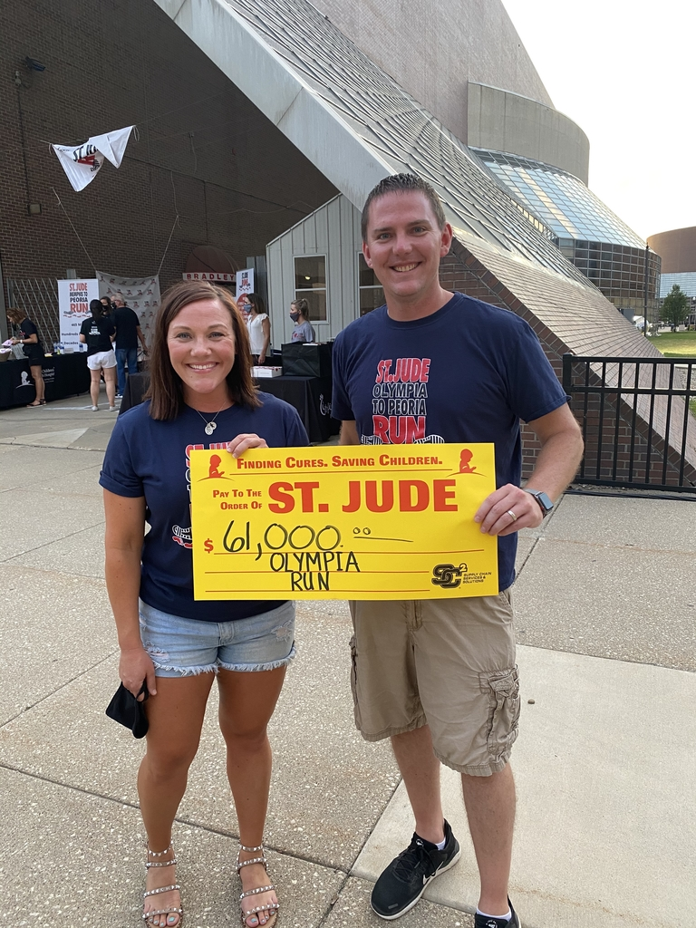 Mr. Walsh and Mrs. Uhlman in Peoria.